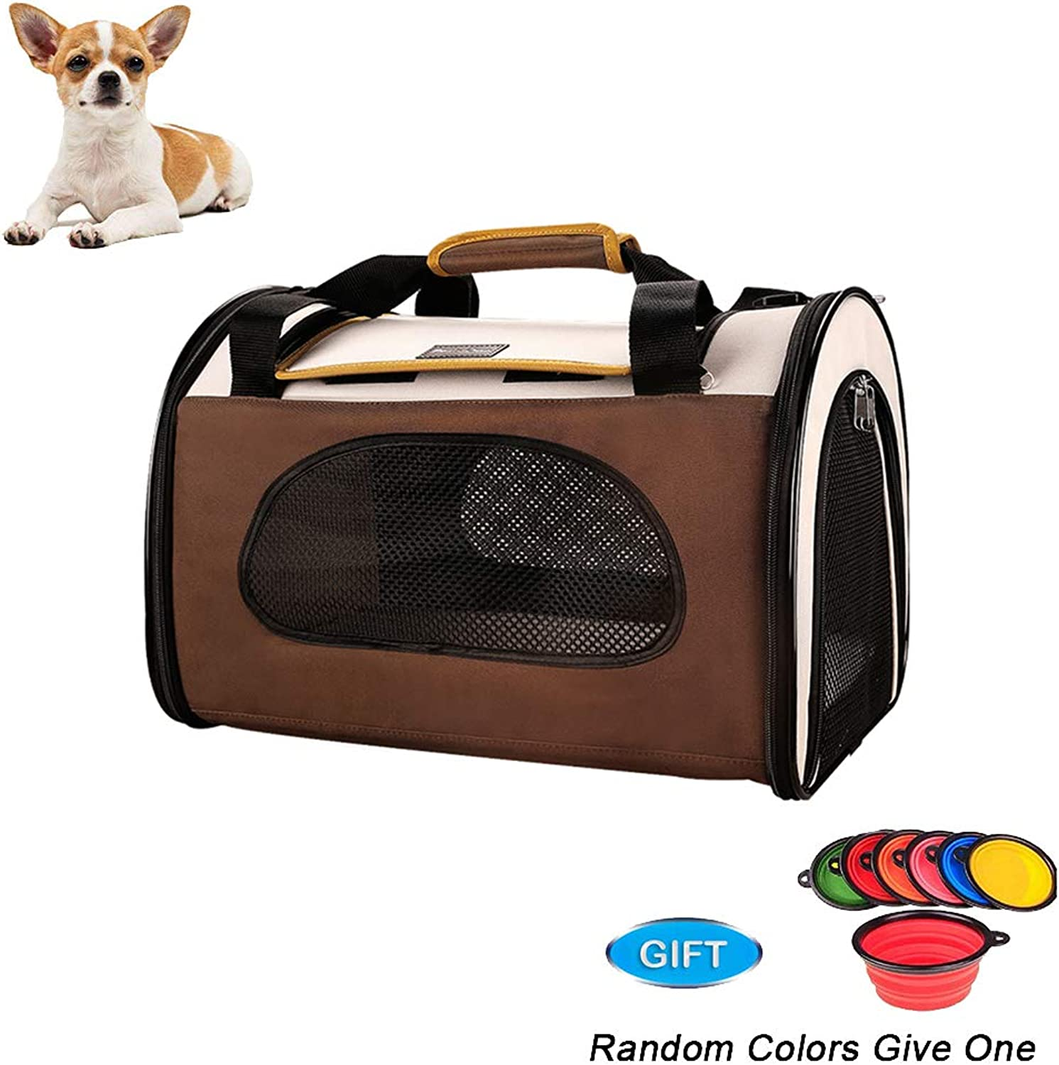 Pet Carrier,for Cats and Puppies, Pet Travel Carrier, 44  29  29cm