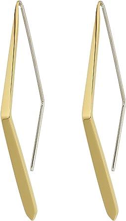 Fossil - Pattern Drop Earrings