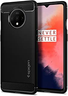 Spigen Rugged Armor Designed for OnePlus 7T - Matte Black