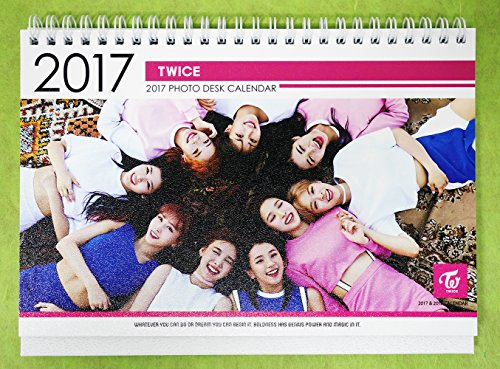 トゥワイス - 2017-2018 PHOTO DESK CALENDAR 卓上カレンダー [韓国盤]