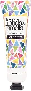 Kimirica How Holiday Smells Tucuma Butter Hand Cream, 100% Vegan & Paraben Free, (30ml)