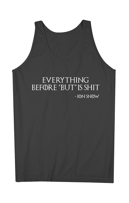 Everything Before But Is Sh*t Jon Snow 男性用 Tank Top Sleeveless Shirt