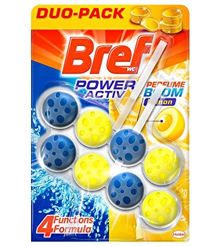Bref Poder Activo Limón Cesta Higiénica WC - 2 x 50 gr
