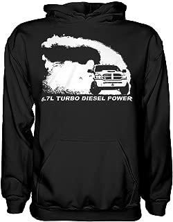 6.7 3rd Gen Dodge Ram Burnout Hoodie Sweatshirt