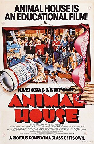 Posterazzi (Aka National Lampoon'S Animal House) British Art 1978. Universal Pictures/Courtesy Everett Collection Movie Masterprint Poster Print, (11 x 17)