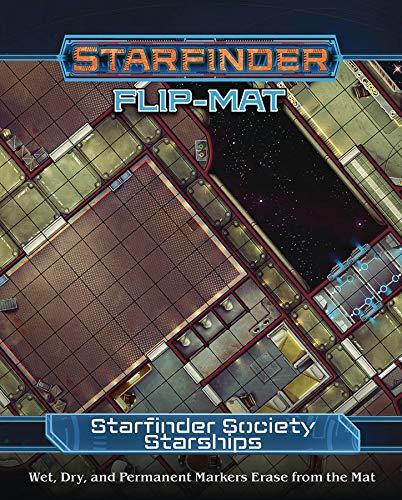 Starfinder Flip-Mat: Starfinder Society Starships