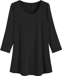 Women's 3/4 Sleeve Casual T-Shirt Plus Size Tunic