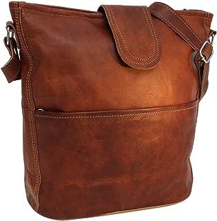 77d0e3d01598 Gusti Leder nature Genuine Leather Ladies Shoulder Smart Shopper Tote  Cross-Body Handbag 9.7