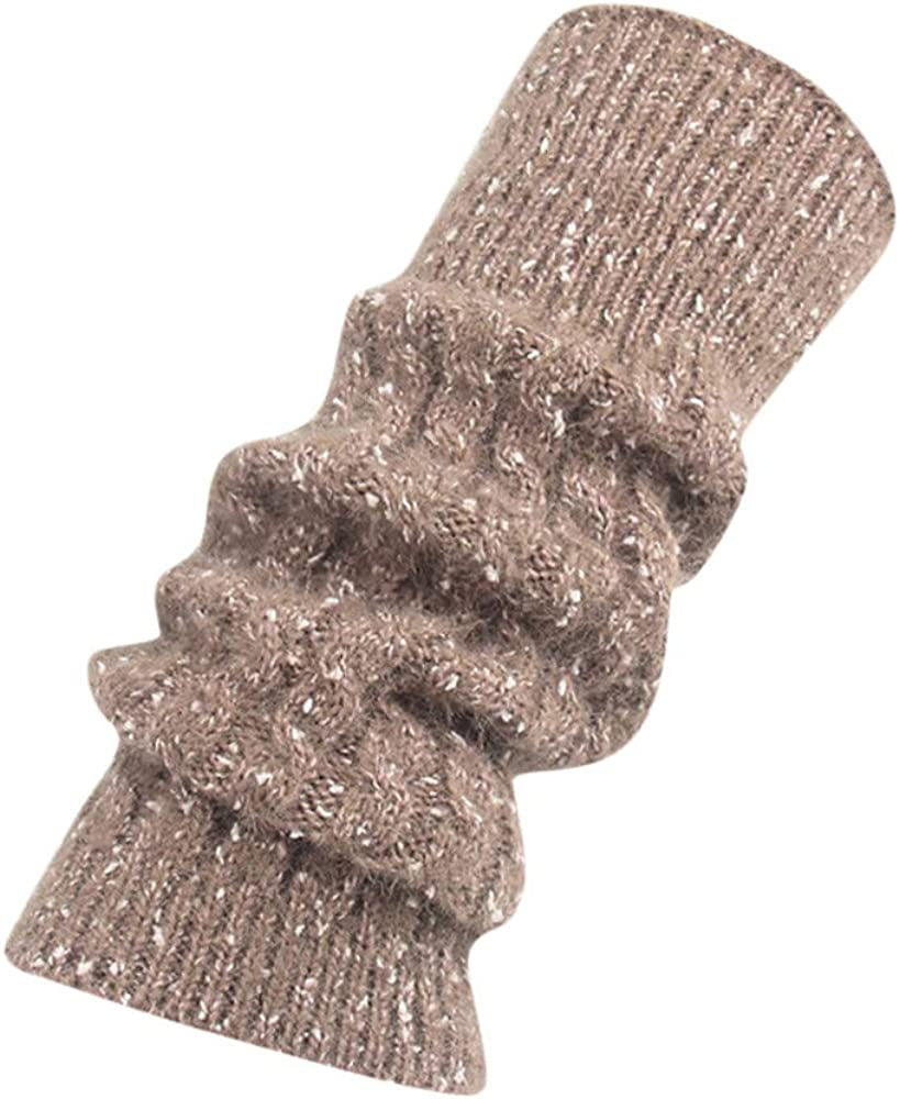 Women Ladies Winter Leg Warmers Cable Knit Knitted Crochet Socks Wool LeggingsThigh Stocking/ Casual/Ankle Socks
