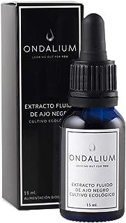 comprar comparacion Ajo Negro Ondalium | Extracto Fluido Concentrado de 15 ml (un mes) – El formato que mejor absorbe el organismo, aprovechan...
