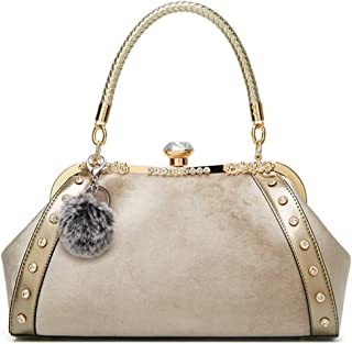 Velvet Diamond Women H bag Evening Bag Totes Messenger Bag Velour Shoulder Bag Retro Clutch Purse