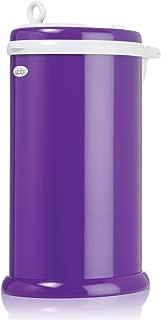 Ubbi Money Saving, No Special Bag Required, Steel Odor Locking Diaper Pail, Purple