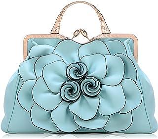 حقيبة كبيرة السعة الزهور حقائب شخصية مزاجه البرية الكتف رسول حقيبة