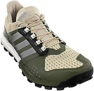 adidas Men's Raven m Trail Runner, Clear/Brown/Neo Iron Met. Base Green S, 7.5 M US