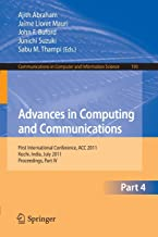 Advances in Computing and Communications, Part I: First International Conference, ACC 2011, Kochi, India, July 22-24, 201...