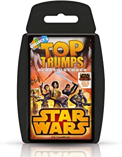 Star Wars Rebels Top Trumps Card Game
