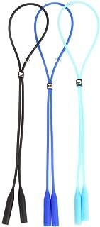 Surepromise 3/x silicone occhiali sportivi da polso degli occhiali da sole del laccio corda per adulti bambini