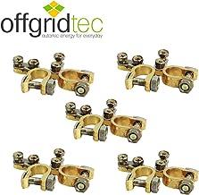 Bornes de batería, set positivo y negativo de Offgridtec®