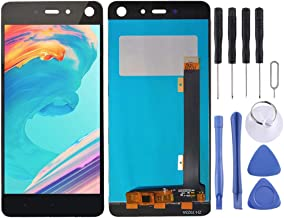 New LCD Screen and Digitizer Full Assembly for Tecno Infinix S2 Pro X522 (Black) Wangyyy (Color : Black)