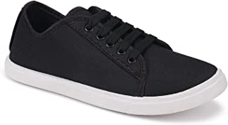Camfoot-5001 Black Exclusive Range of Loafers Sneakers Shoes for Women
