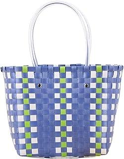 Multipurpose Beach Tote Ladies Waterproof Bucket Bag Woven Shopping Bag Extra Large Summer Handbag for Women Zhhlinyuan