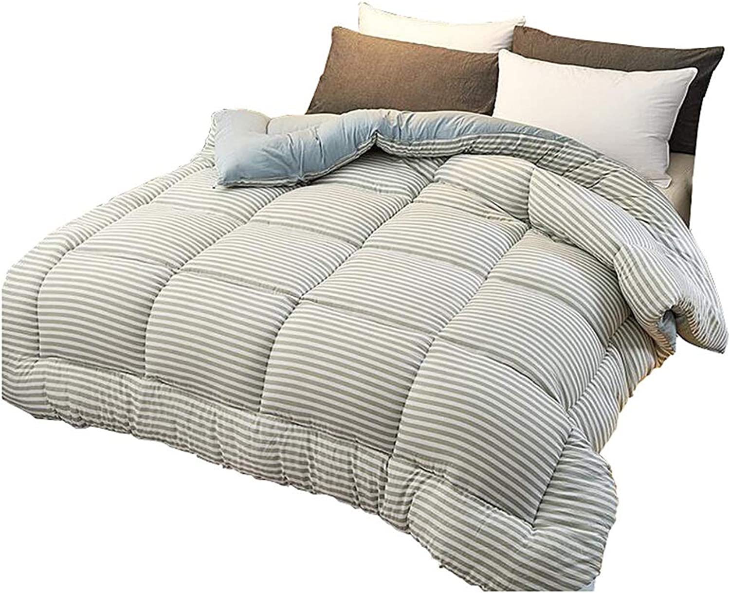 Quilt Thicken Warm and Soft for All Season All-Season Quilted Comforte Rhypoallergenic Quilted Comforter with Corner Tabs (Size   150cmx200cm3kg)