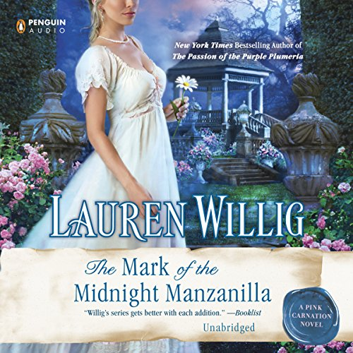 The Mark of the Midnight Manzanilla audiobook cover art