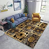 Lament Configuration Side A Area Rugs Non-Slip Floor Mat Doormats Home Runner Rug Carpet for Bedroom Indoor Outdoor Kids Play Mat Nursery Throw Rugs Yoga Mat