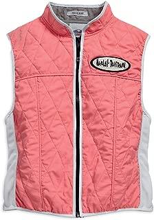 HARLEY-DAVIDSON Womens Misty Cooling with HyperKewl Lining Pink Vest 97076-15VW