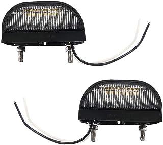 Vaorwne 24V 6 SMD LED Auto Camion rimorchio Luce indicatore Laterale Lampada Luce Verde