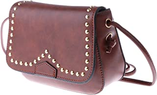 F Fityle New Fashion Women Small Square Chain Shoulder Handbag Messenger Crossbody Bag