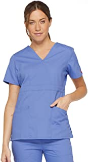 Dickies Women's Eds Signature Scrubs Missy Fit Mock Wrap Top Eds Signature Scrubs Missy Fit Mock Wrap Top (pack of 1)