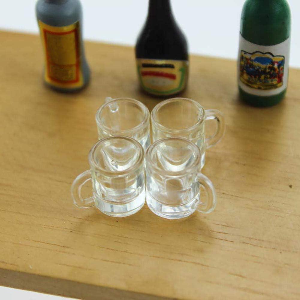 Anniston Dollhouse Furniture Nippon regular agency 1 6 12 Empty 5 ☆ popular Mug Miniature Beer