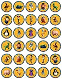 30 x Edible Cupcake Toppers Themed of Toy Story Collection of Edible Cake Decorations | Uncut Edible on Wafer Sheet