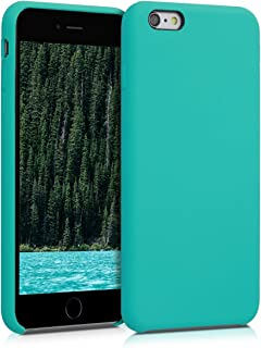 kwmobile TPU Silicone Case for Apple iPhone 6 Plus / 6S Plus - Soft Flexible Rubber Protective Cover - Turquoise