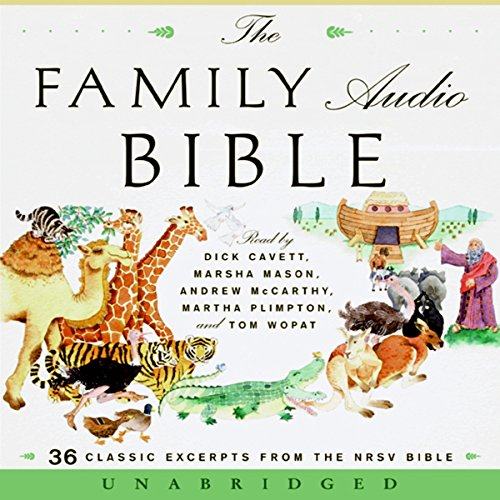 The Family Audio Bible  audiobook cover art