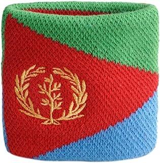 Flaggenfritze Sweatband motiv flagga/flagga Eritrea + gratis klistermärke