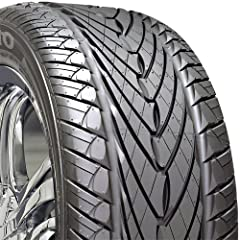 Advanced belt package constructed using high-tensile steel belt and jointless nylon cap ply to reinforce the tread area, assuring high speed stability Outstanding all-season tread compound improves wear resistance and ride comfort Shoulder blocks wit...