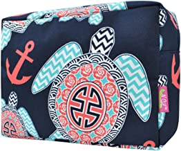 Sea Turtle Anchor NGIL Large Cosmetic Travel Pouch