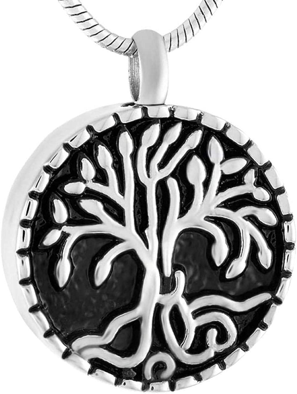 Memorial Jewelry Cremation Jewelry Urn Ashes Memorial Necklace Tree of Life Ashes Souvenir Urn Pendant Necklace Pet/Human Ashes Cute Ashtray Memorial Jewelry Urn Necklace