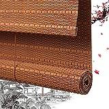 Persiana Enrollable De Bambú Persianas Romanas De Bambú Persianas De Privacidad Persianas Enrollables De Madera - Persianas Ventanas Al Balcón Dormitorio Decoración De La Instalación Del Techo De La P