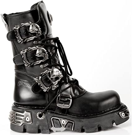 New Rock Boots Style 391 Black : boots