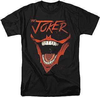 Batman Joker Bat Laugh Unisex Adult T Shirt for Men and Women