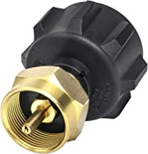 GASPRO Propane Refill Adapter LP Gas Cylinder Tank Coupler-Fits QCC1/Type1 Propane Tank and 1 LB Throwaway Disposable Cylinder-100% Solid Brass Accessory