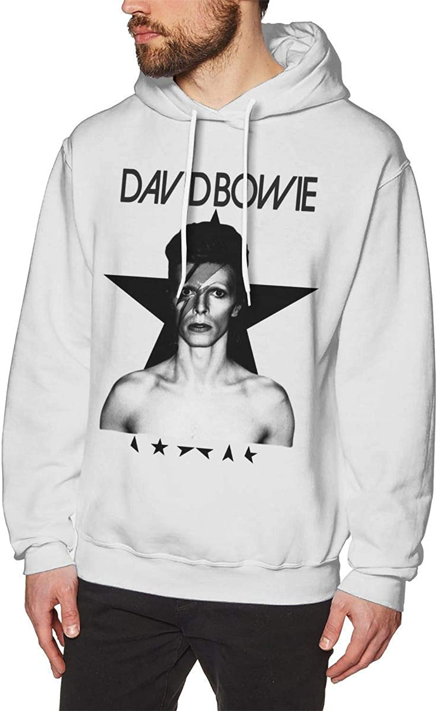 24e1a9a38 Mens David Bowie Bowie Bowie Particular Hoodie Sweatshirt White ...