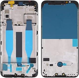 香港携帯電話の付属品 Meizuの16Xs用フロントハウジングLCDフレームベゼルプレート 交換部品 (色 : Black)