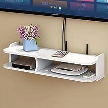 Punch-gratis woonkamer TV muur set-top box rack router opbergdoos muur opknoping decoratieve partitie slaapkamer, 50cm