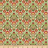 Wilmington Holiday Lane Damast-Baumwoll-Quiltstoff,