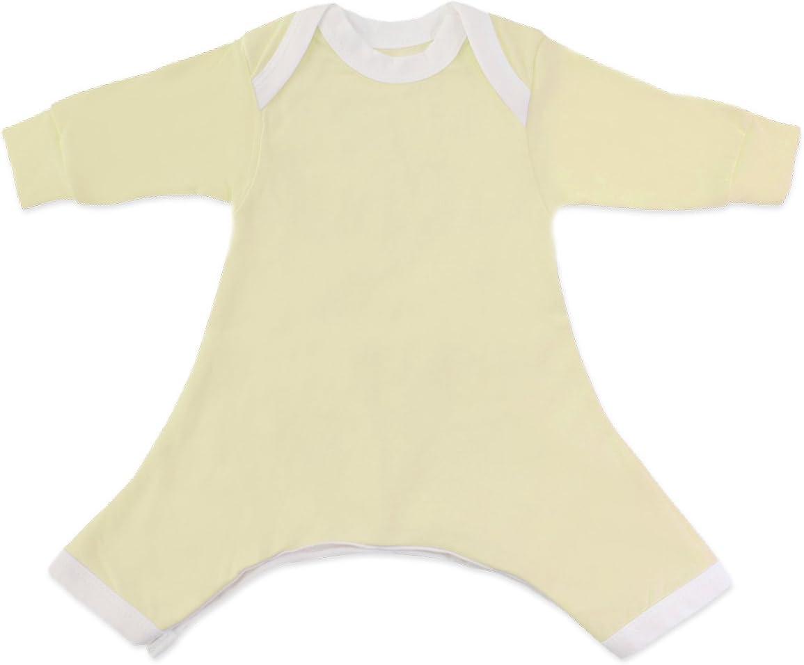 Hip Pose White Pavlik Romper Long Sleeve 0-3 Months