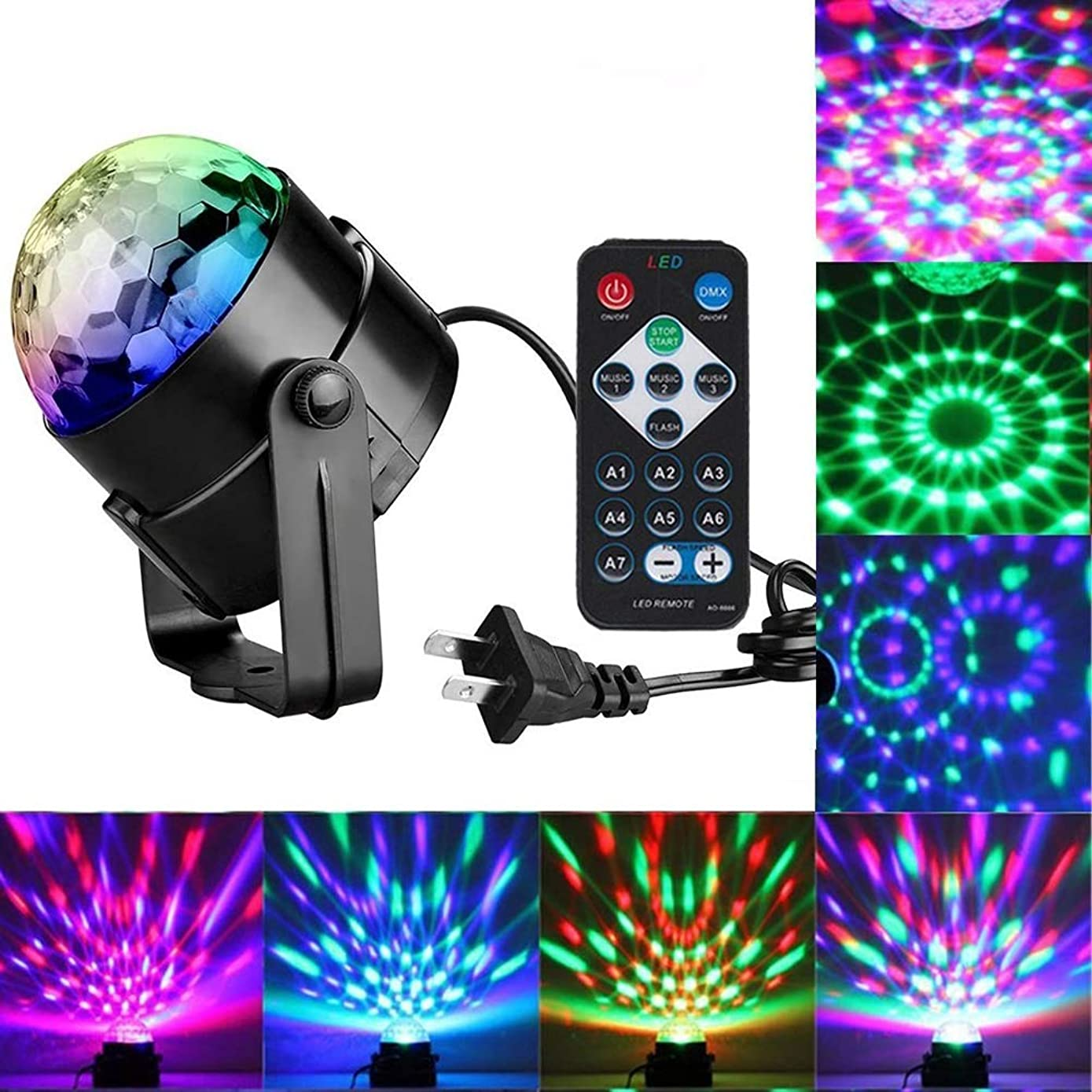 Rziioo Christmas Projector Lights, Decoration Holiday Lights for Wedding Show,Club,Party,Holiday(2pcs)
